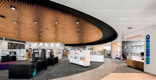 Aldinga Library Ceiling by Keystone Linings