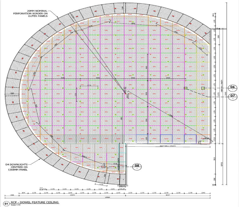 Aldinga Library Ceiling plans by Keystone Linings