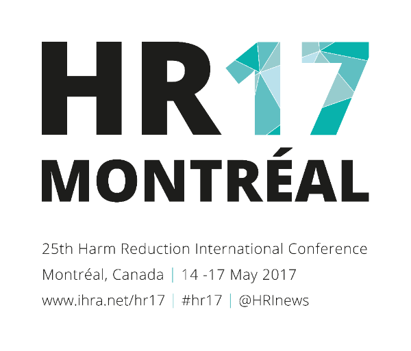 HR17 Montréal | 25th Harm Reduction International Conference | Montréal, Canada | 14-17 May 2017 | www.ihra.net/hr17 | #hr17 | @HRInews