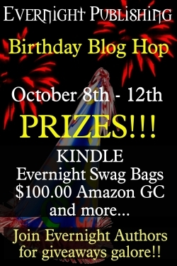 Evernight birthday hop graphic