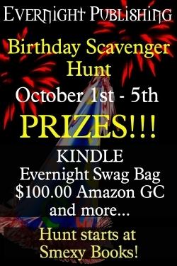 Birthday scavenger hunt graphic