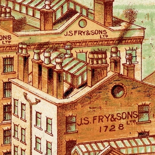 Fry's chocolate factory in the Pithay, Bristol