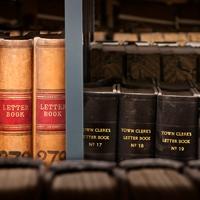 Town Clerks' letter books (c) Neil McCoubrey)