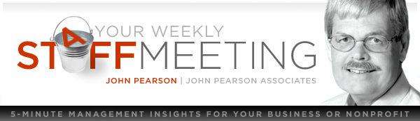 Your Weekly Staff Meeting | John Pearson Associates