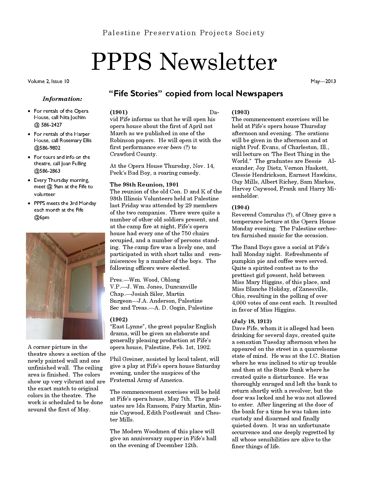 PPPS May News