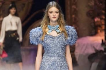 مختارات من أجمل ما تم عرضة في عرض أزياء Dolce & Gabbana لخريف وشتاء 2016-2017