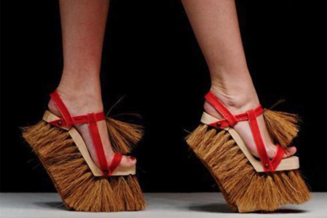 الأحذية الأكثر جنونا في العالم!!