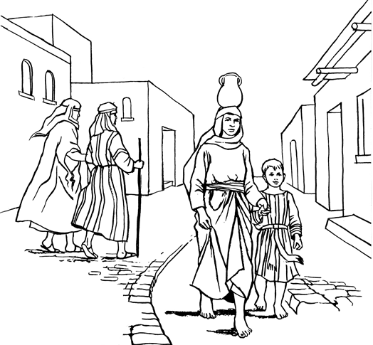 How the Jews Lived - sample illustration