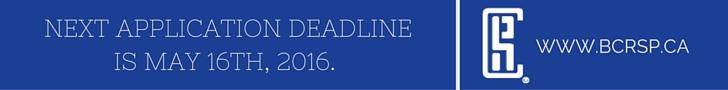 Next CRSP deadline