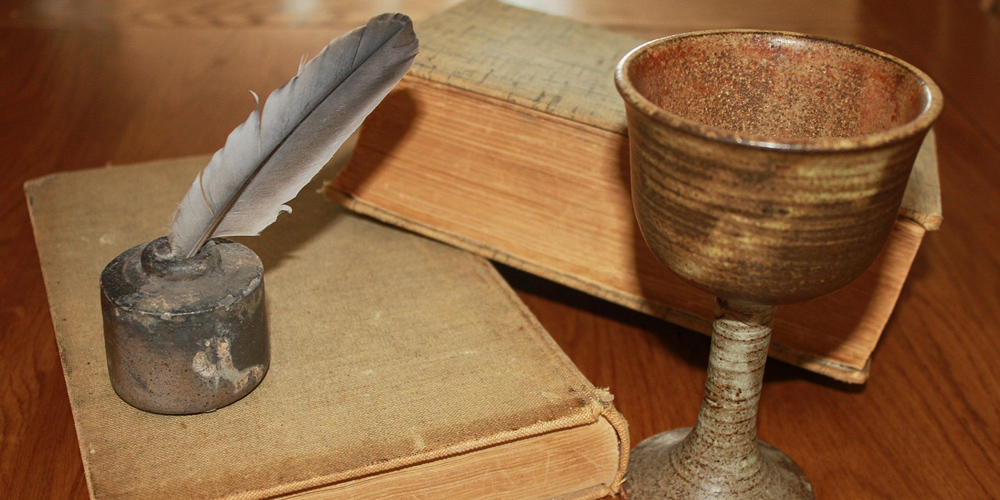 Quill and Cup
