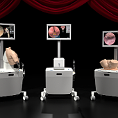 VirtaMed simulators in Dubai at Arab Health