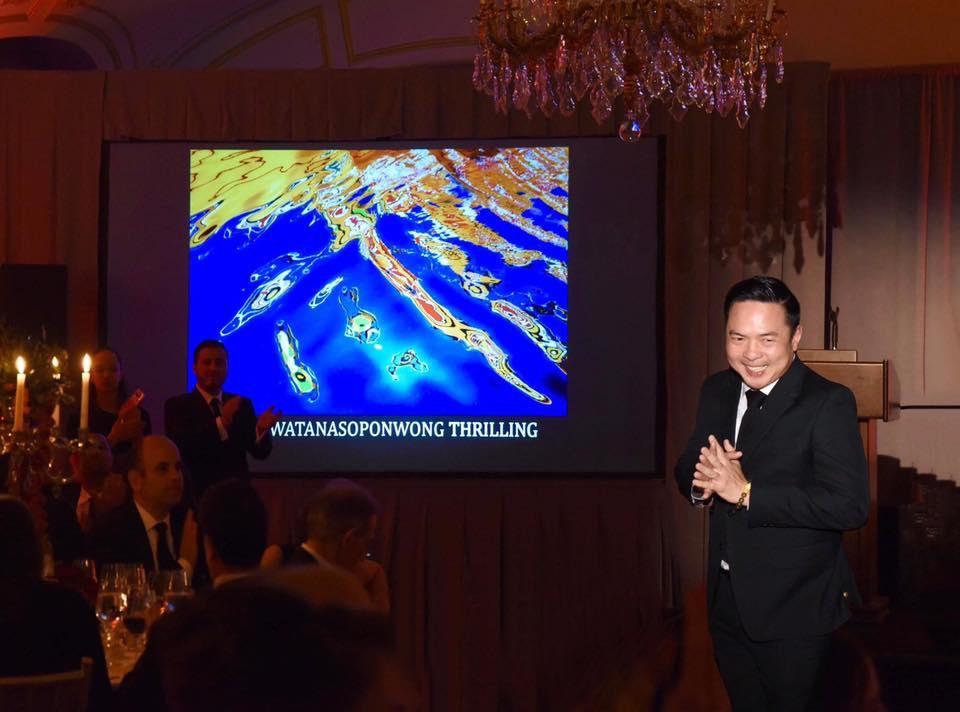 ภาพ THRILLING ที่ถูกประมูลไปในงาน ACE Gala 2019