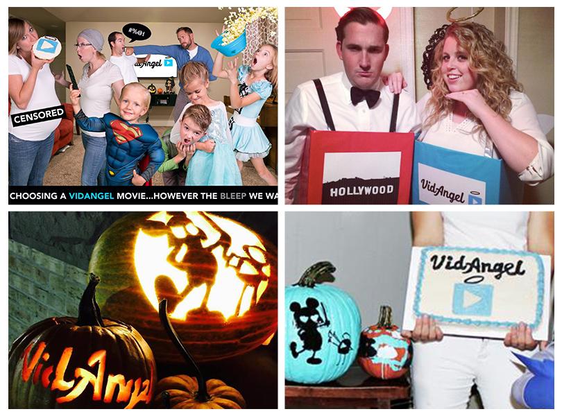 VidAngel halloween winners!