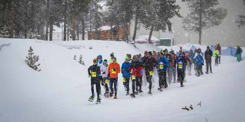 Dion 2020 US National Snowshoe Championships