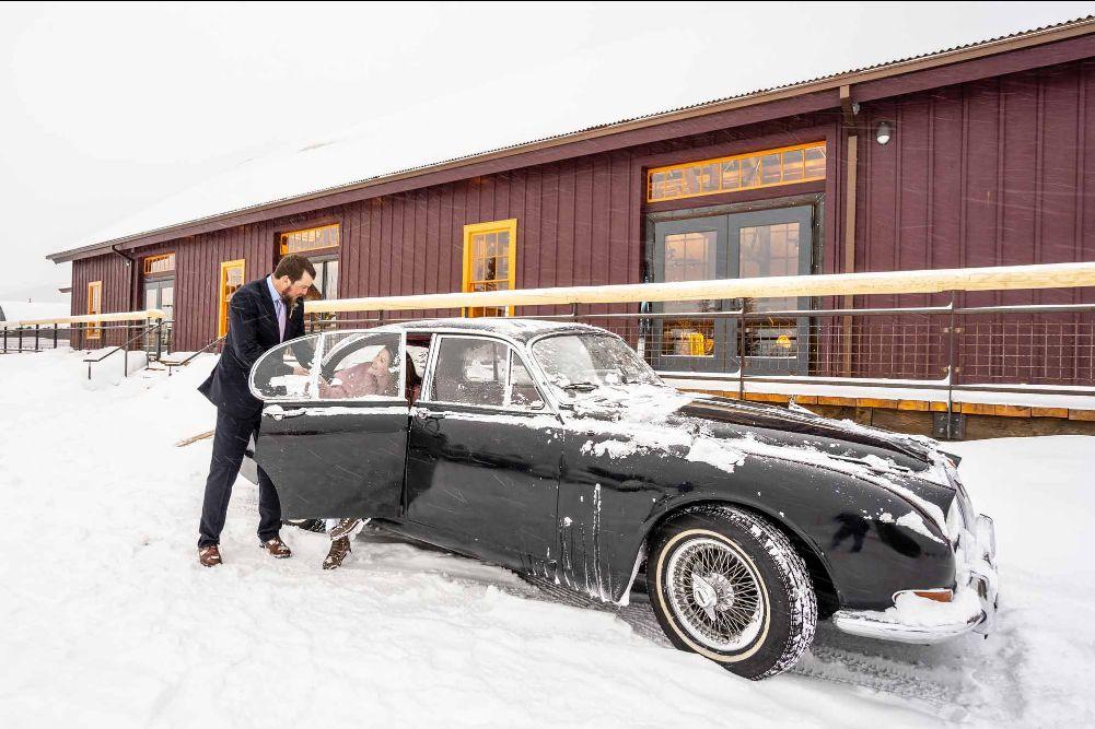 Wedding in Leadville, Colorado