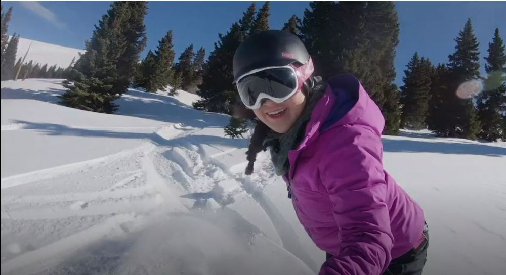 Snowboarding at Ski Cooper