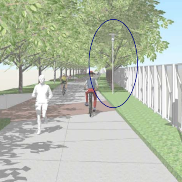 Urban Trail Will Feature Mural Walls, Water Fountains, Air Pumps and Extend Two Blocks