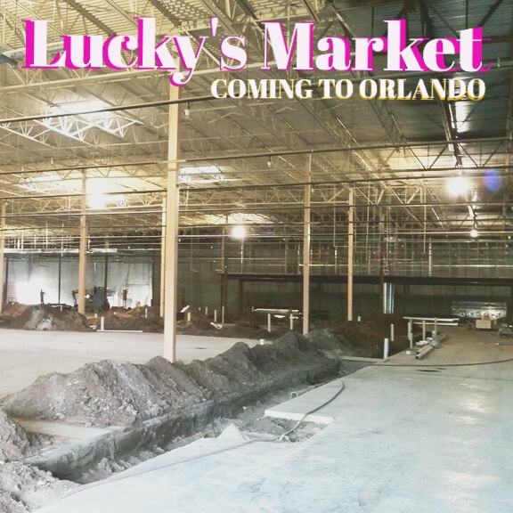 Lucky's Market Orlando - Construction Peek Photos