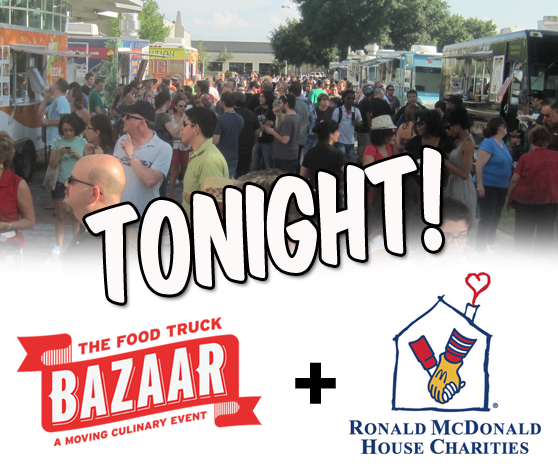 The Food Truck Bazaar helps out Ronald McDonad House Charities