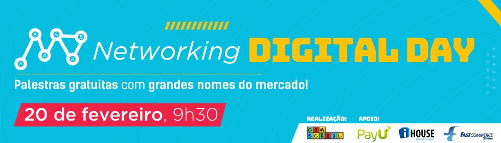 Cursos de Marketing Digital - Networking Digital Day ComSchool