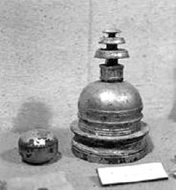 Buddhist reliquary stupa