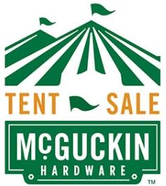 Fall Tent Sale