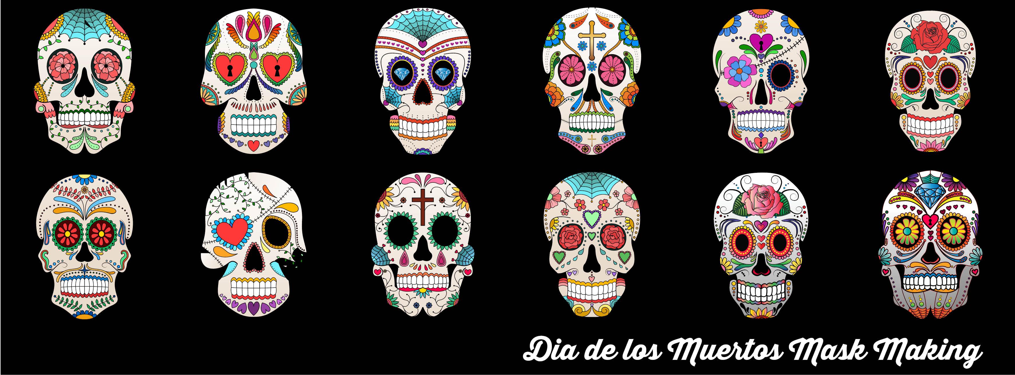 Dia de los Muertos Mask Making