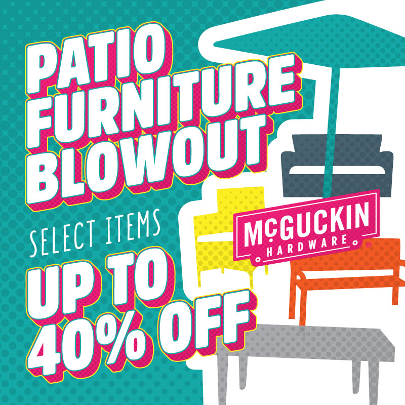 Patio Furniture Blowout