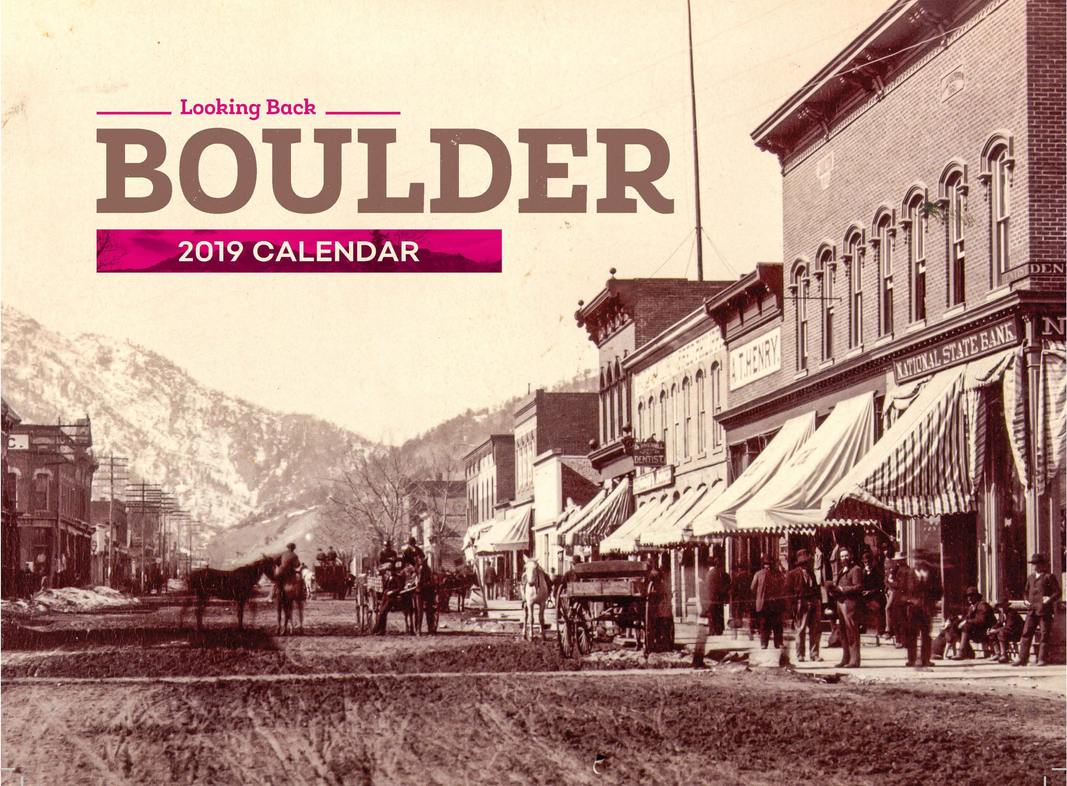 2019 Boulder Calendar