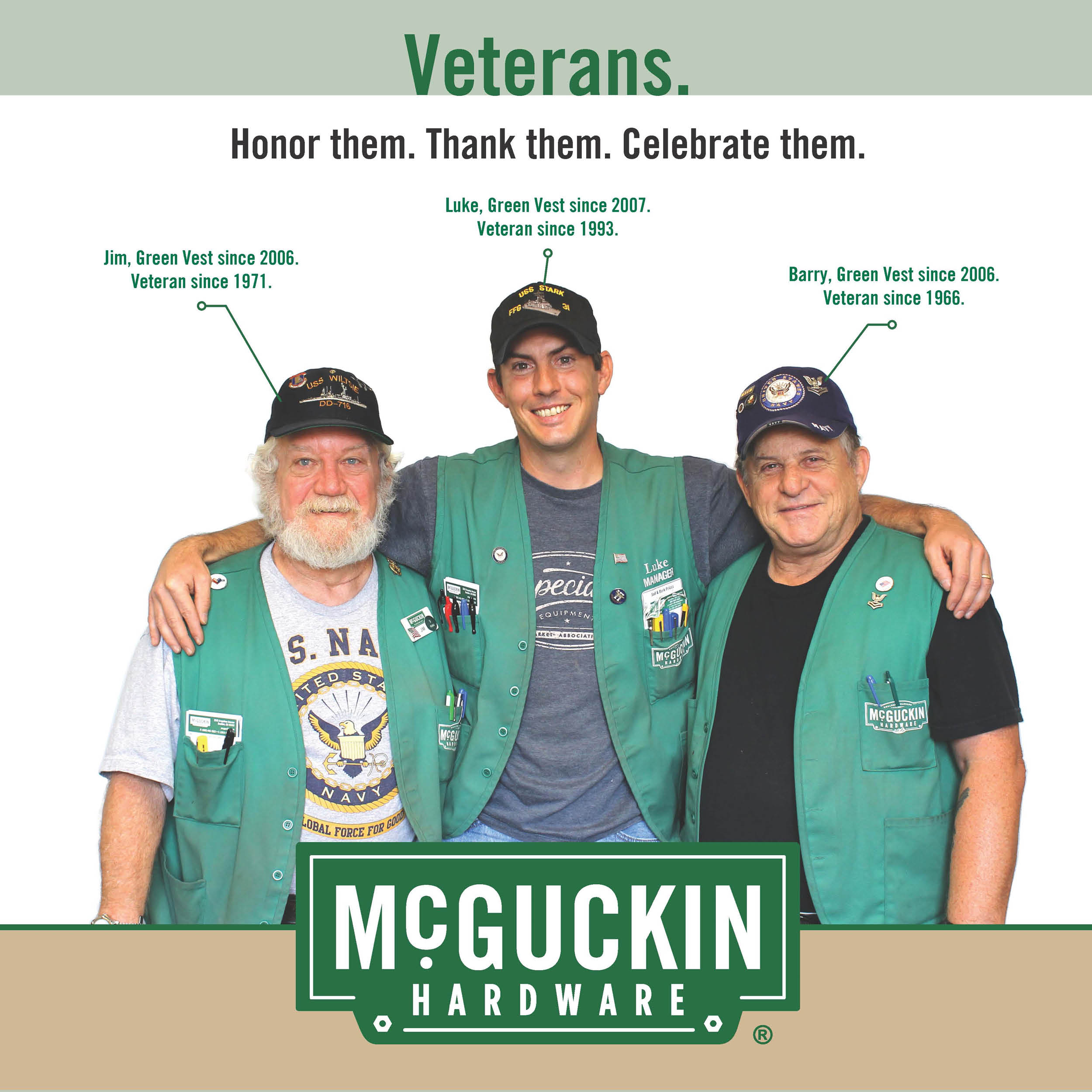 Veterans at McGuckins