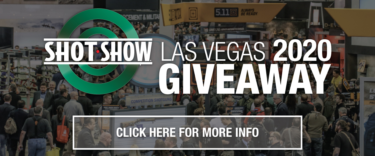 Join the Las Vegas Shot Show 2020 Giveaway