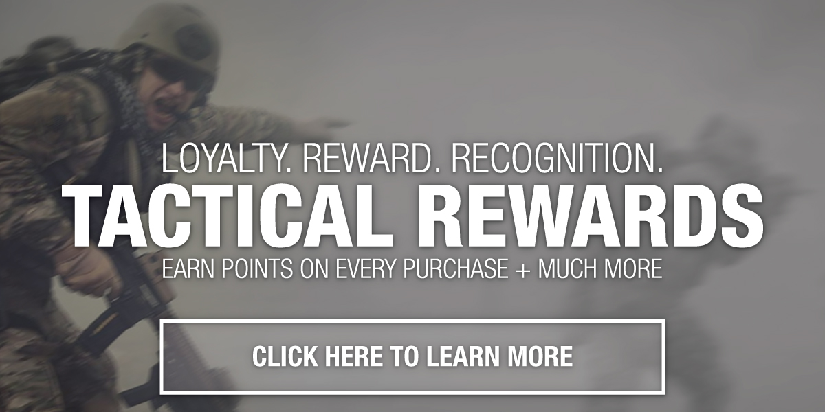 Earn points on every purchase - TACTICAL REWARDS