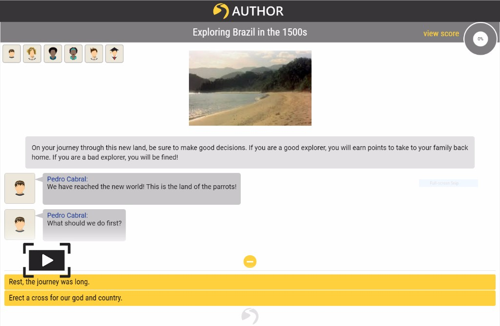 Creating an Adventure with SmartChat