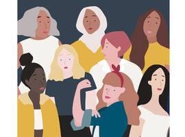 Illustration of women.