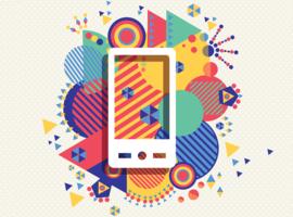 Phone illustration.