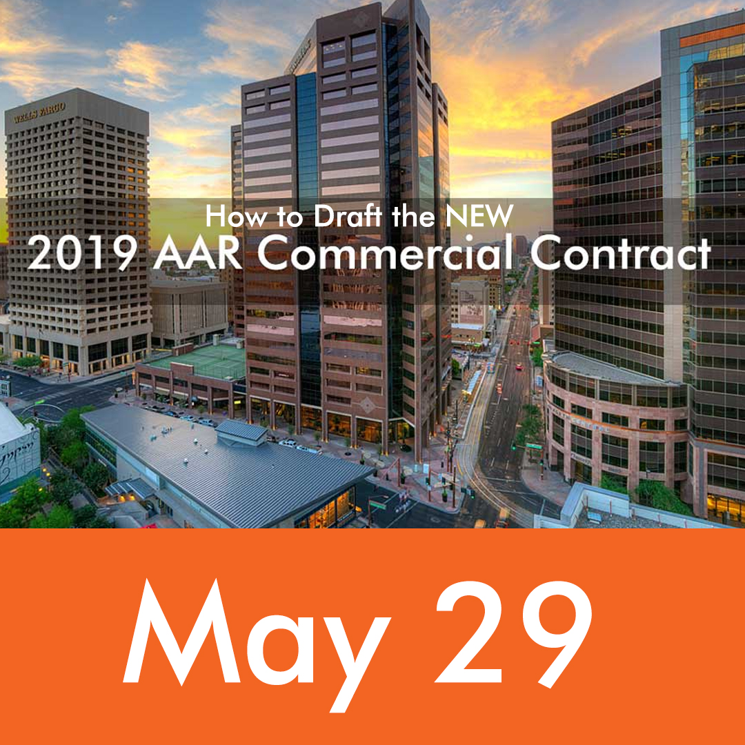 How to draft the new AAR commercial contract