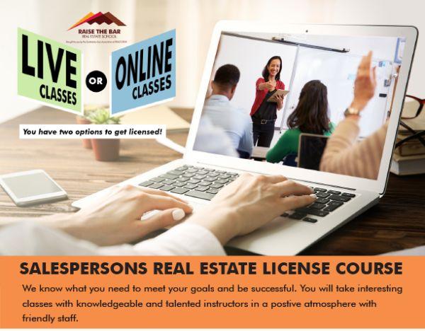 Online Real Estate Licensing Classes