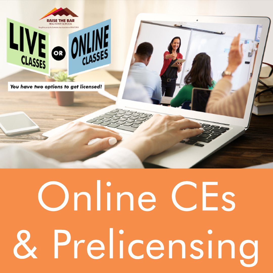 Online CE and Prelicensing Classes