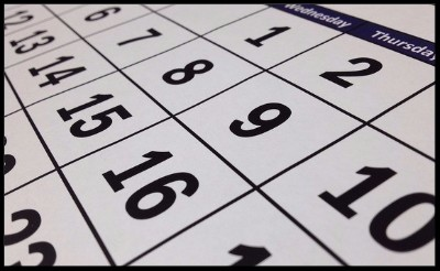Click here to open the SAAR online calendar.