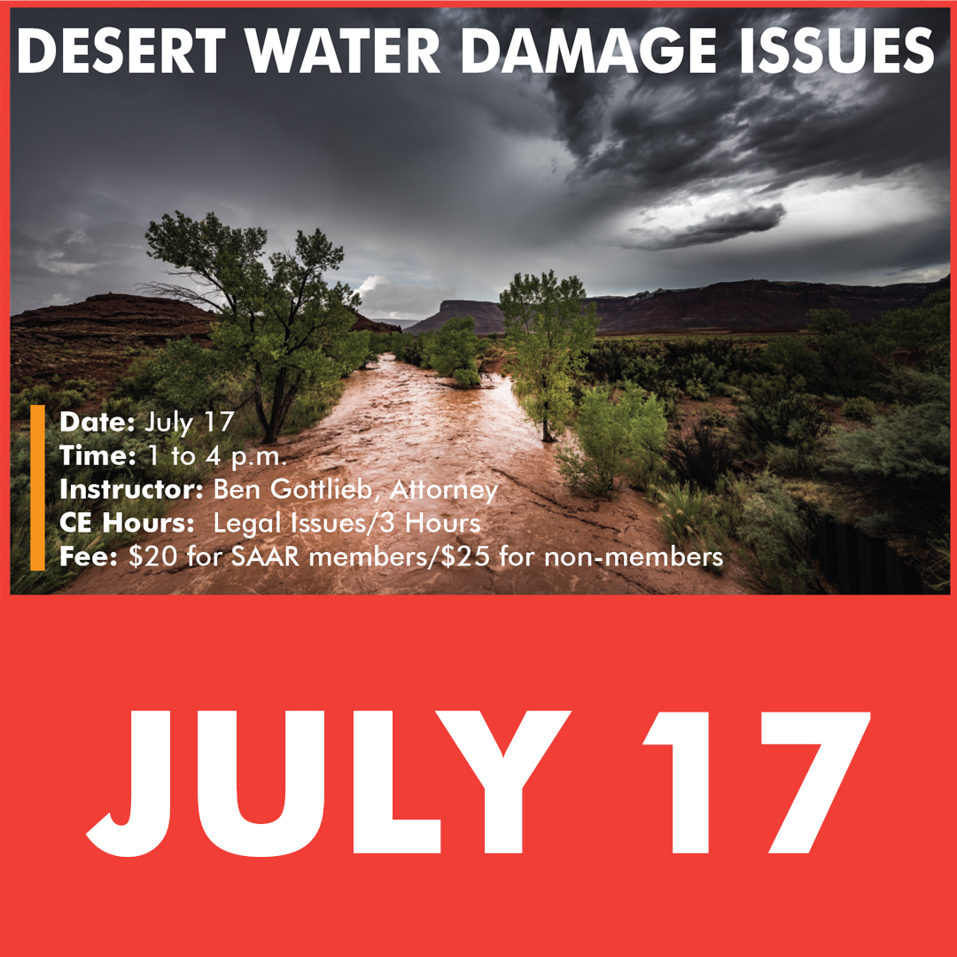 Desert Water Damage Issues