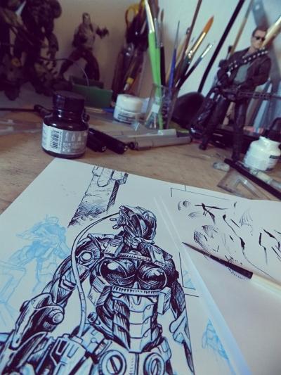 Bloodlust 4. work in progress fotó