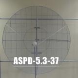 ASPD-5.3-37 антенна сегментно-параболическая