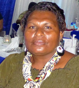 Councillor Mato Posu (photo courtesy of UN Women)