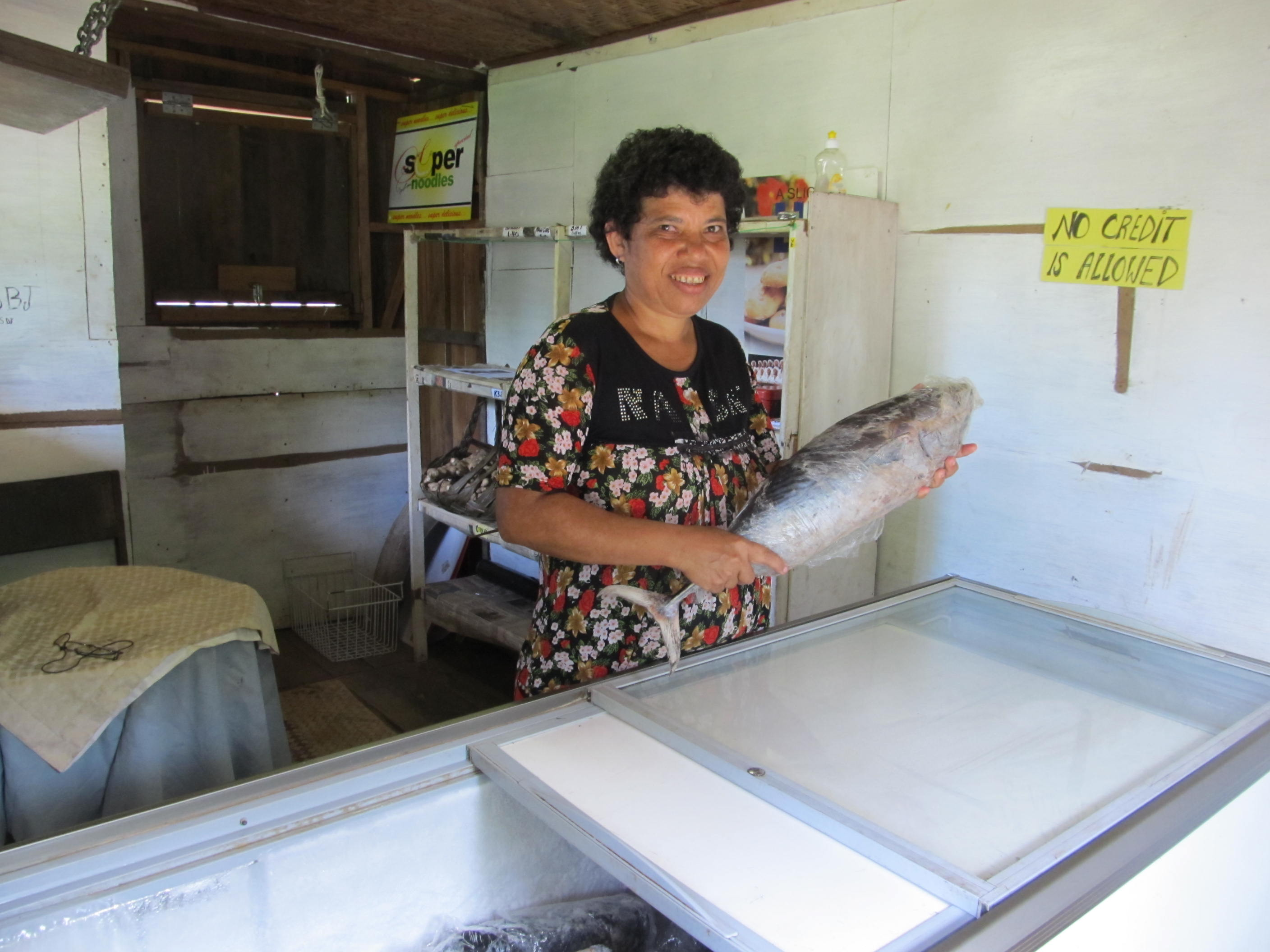 ANJ Fish Supplies Owner, Judith Jonathon