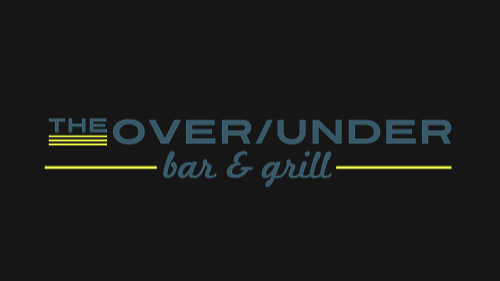 Logo for The Over/Under Bar and Grill