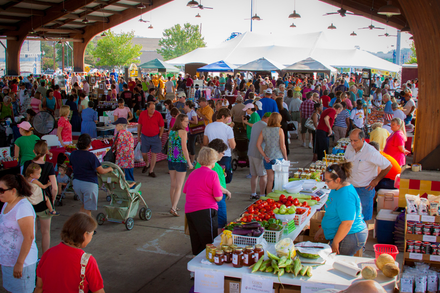 Shreveport-Bossier offers farmers' markets, festivals and annual food events during the month of June.