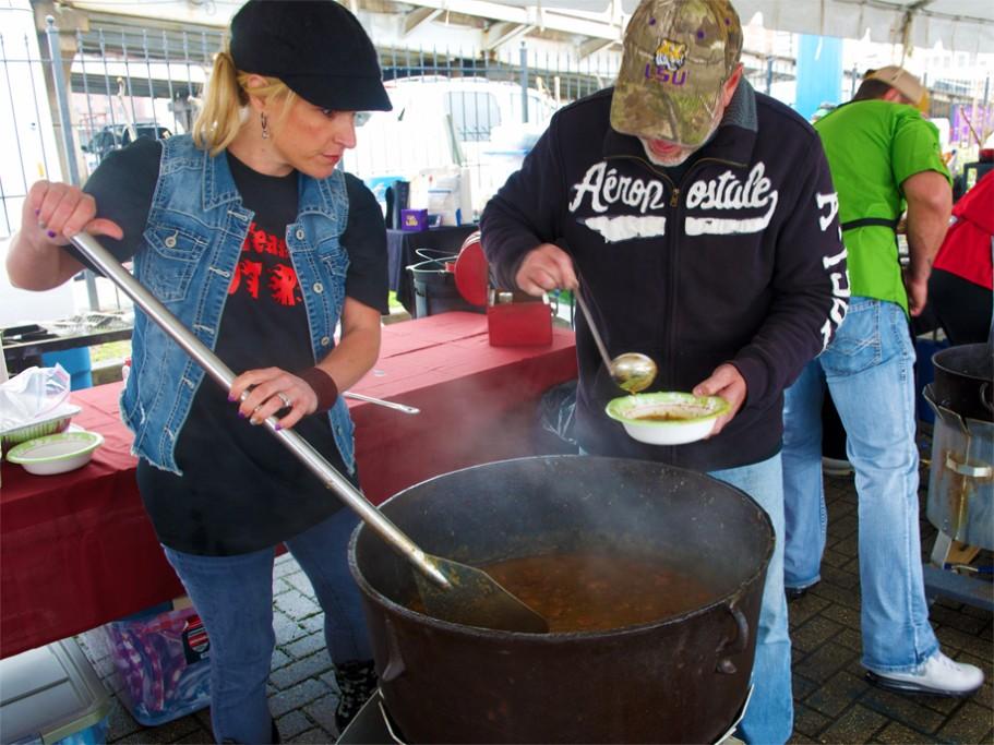 Chicken soup from La Cocina de Los Amigos