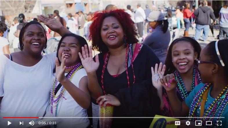 video of Mardi Gras in Shreveport-Bossier
