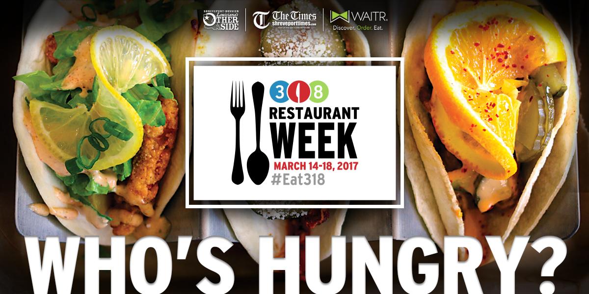 318 Restaurant Week in Shreveport and Bossier City