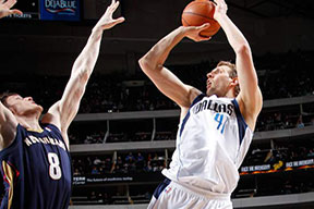 NBA Dallas Mavericks vs New Orleans Pelicans